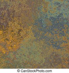 Rust metal texture - Detailed grunge vintage rust metal...