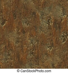 rust., seamless, texture.