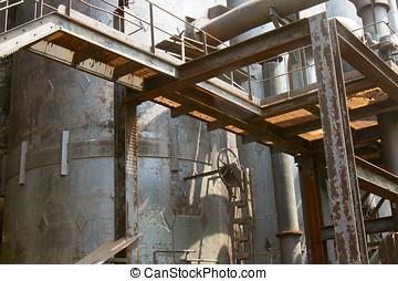 Ruste, industriel,  Tank