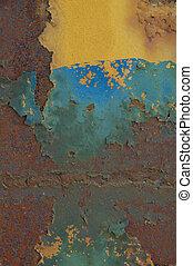 Rusted Iron Beam