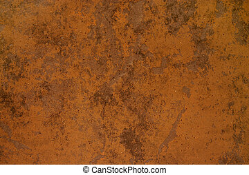Rusted material - Brown rusted material