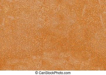 Rusted metallic plak