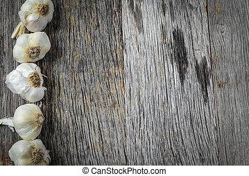 rustic, bärlauch, hintergrund