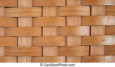 Rustic Basket Weave - Background of a rustic basket weave...