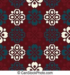 Rustic blossom pattern