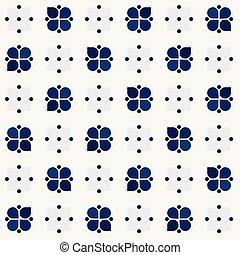 Rustic blue blossom