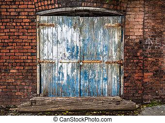 Rustic Brick Warehouse