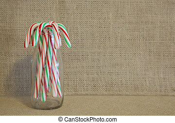 Rustic Candy Canes