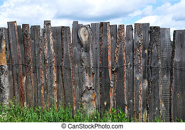 Rustic country fence