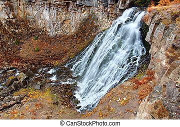 Rustic Falls Yellowstone National Park