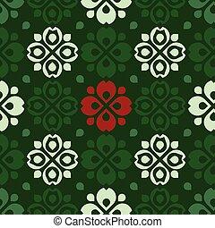 Rustic folk pattern