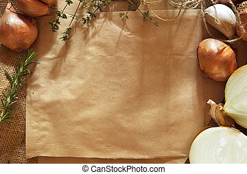 Rustic Food Background