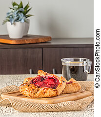 Rustic Fruit Tarts Portrait