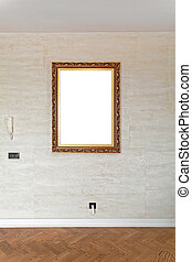 Picture Frame at Wall