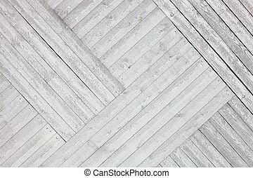 rustic, hölzern, weißes, planken, hintergrund