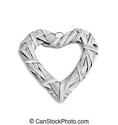 rustic, heart-shaped, verzierung