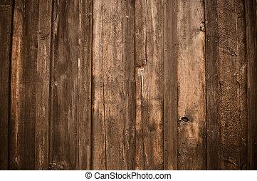 rustic, mørke, træ, baggrund