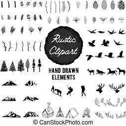 Rustic Nature Clipart