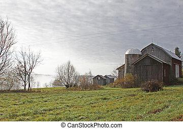 Rustic, old barn