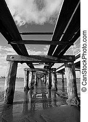 Rustic Old Pier