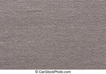 Rustic textile background in grey colour.