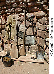 Rustic Tools - A collection of rustic ranch and garden tools...