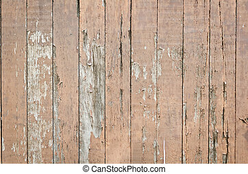 rustic weathered barn wood background with knots and nail...