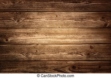 Rustic wood planks background with nice studio lighting and...