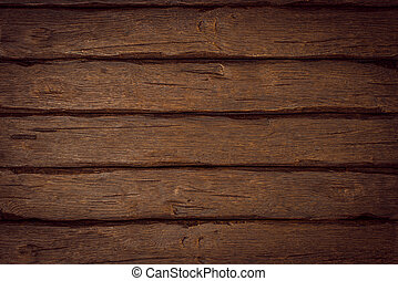 Rustic wooden board - Rustic old dark wooden board ...