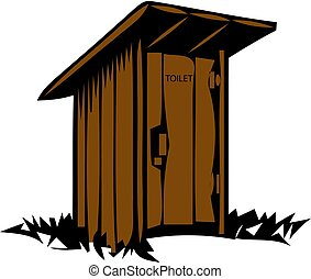 outhouse clipart and stock illustrations 201 outhouse vector eps rh canstockphoto com cartoon outhouse clipart free outhouse clip art coloring pages