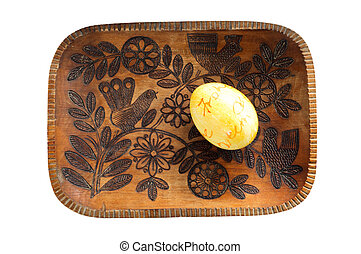 Rustical Easter Plate