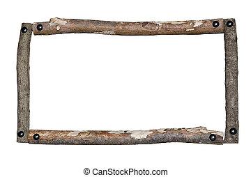 rustico, cornice legno