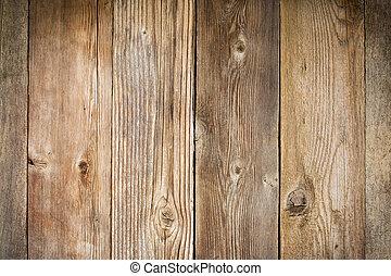 rustico, fondo, legna weathered