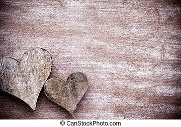 rustico, heart.