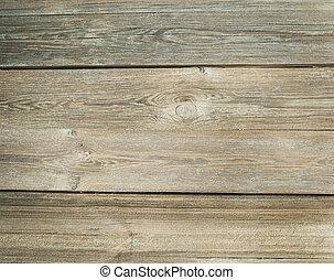 rustik, gammal, trä struktur