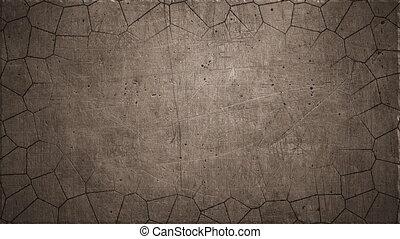rusting metal background - rusting metal, 4k timelapse...