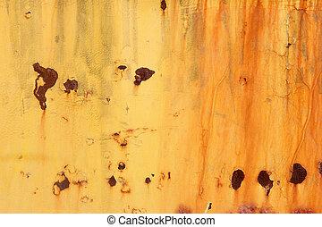 rusting orange background