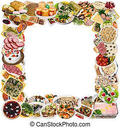rustique, nourriture,  Style, cadre,  Photo