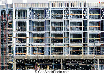 An image of a building under construction in Ruston, Washington.