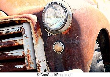 Rusty Antique Truck