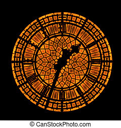 Rusty clock