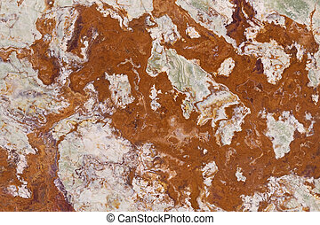 Rusty color marble background
