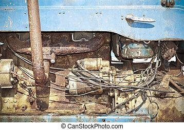 Rusty engine