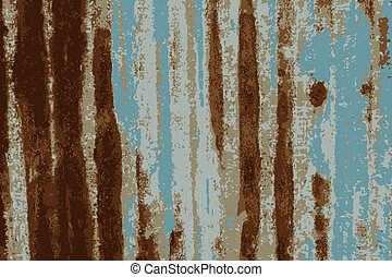 Rusty galvanized iron plate.tracing vector - Tracing vector...