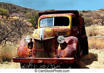 Rusty Ghost Truck