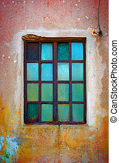 Rusty Green Window