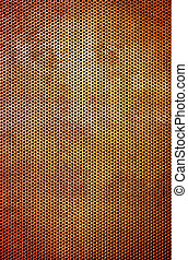 Rusty Grid Background