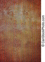 Rusty Grid Background