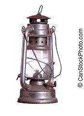 rusty lamp