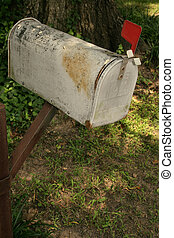 Rusty Mail Box
